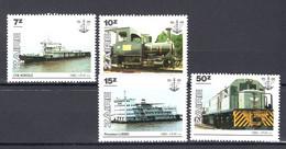 Republiek  Zaïre 1302/05 - MNH - 1980-89: Mint/hinged