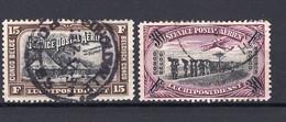 Belgisch Congo PA5/6 - Gestempeld/oblitéré - Airmail: Used