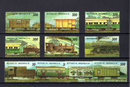 Republik Indonesia  -  Trains - MNH - Trains