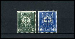 Eire - Yv 62/63 -  -  MH - Unused Stamps