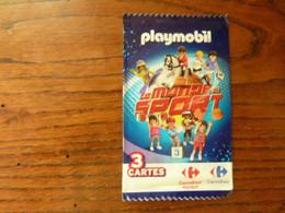 10 Pochettes De 3 Cartes Playmobil - Le Monde Du Sport - Other