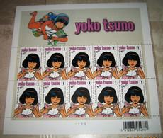 3922** Yoko Tsuno - Roger Leloup - Philatélie De La Jeunesse - Japon- Feuillet 10 Timbres RRRR / Pl 1 - Hojas