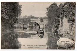 94 / VILLENEUVE-SAINT-GEORGES - Vue Sur L'Yerres - Villeneuve Saint Georges
