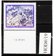 HOD#/19 ÖSTERREICH 1986 STIFTE Und KLÖSTER Michl 1859 ANK 1890 Mit DRUCKDATUM  ** Postfrisch SIEHE ABBILDUNG - 1981-90 Neufs