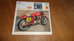 JAWA 500 Z-15 Grand Prix GP 1955 Tchécoslovaquie Moto Fiche Descriptive Motocyclette Motos Motorcycle Motocyclette - Sin Clasificación