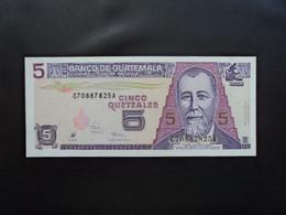 GUATEMALA * : 5 QUETZALES    29.7.1998     P 100         NEUF ** - Guatemala