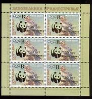 Transnistria 2018 WWF Birds 30th Anniversary Of The Yagorlyk Nature Reserve Sheetlet** MNH Gold OP - Moldavië
