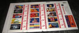 Ketnet.Be Jeugdprogramma Van Op TV Vroeger-15# Verschillende Duostamp - Duostamps - Duozegels - Ongeplooid! MNH Postfris - Personalisierte Briefmarken