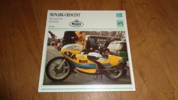 MONARK Crescent 500 GP Rudi Kurth 1973 Suède Sweden Moto Fiche Descriptive Motocyclette Motos Motorcycle Motocyclette - Sin Clasificación