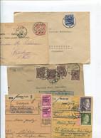 8435) 10 Belege Gesamtdeutschland - Marcofilie - EMA (Printmachine)