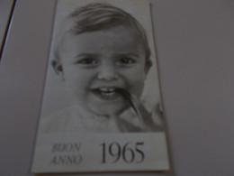 B795  Calendarietto 1965 Cm10,5x6 - Unclassified