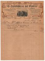 "Jornal ""O Comércio Do Porto * Factura 1920 * Invoice * Facture * Rechnung - Portugal"