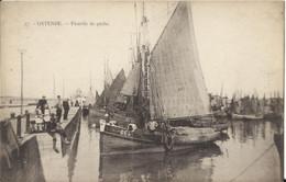 Oostende - Ostende - Flotille De Pêche (uitg. Henri Georges Nr 17) - Oostende