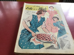 Le Petit écho De La Mode Magazine De Mode  Paris 1950 Sans Le Patron - Fashion