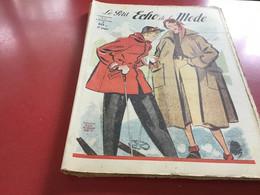 Le Petit écho De La Mode Magazine De Mode  Paris 1950 Sans Le Patron Ski - Fashion