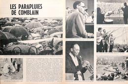 Article Papier FESTIVAL JAZZ COMBLAIN-LA-TOUR  RAY CHARLES JON EARDLEY 1964 PLM P1051618 - Ohne Zuordnung