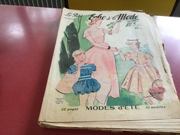 Le Petit écho De La Mode Magazine De Mode  Paris 1949 Sans Le Patron - Fashion