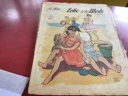 Le Petit écho De La Mode Magazine De Mode  Paris 1949 Sans Le Patron Enfants à La Plage - Fashion