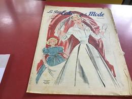 Le Petit écho De La Mode Magazine De Mode  Paris 1949 Sans Le Patron Marié - Fashion