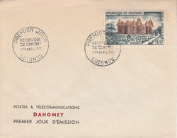 DAHOMEY FDC 1960 CASE SOMBA - Benin - Dahomey (1960-...)