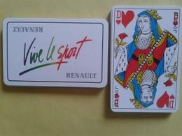 RENAULT Vive Le Sport. Jeu De 32 Cartes. Usagé Sans étui - Carte Da Gioco