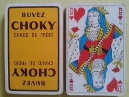 Buvez CHOKY Chaud Ou Froid. Jeu De 32 Cartes. Usagé Sans étui - Carte Da Gioco