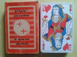 AIR ALGERIE. Jeu De 32 Cartes. Usagé Dans Sa Boite Carton - Carte Da Gioco