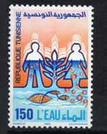 Tunisie 1990 Préservation De L'eau / Water Preservation - Protezione Dell'Ambiente & Clima