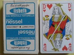 LISBETH Eau Minérale Naturelle Source NESSEL. Jeu De 32 Cartes + Un Joker. Usagé Dans Sa Boite Carton - Carte Da Gioco