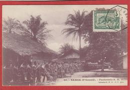 Gabon - Samba (N'Gounié) - Factorerie S.H.O. - Gabon