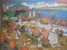 Vieux  Grand Puzzle Asterix  Obelix  D Epoque / - Collections
