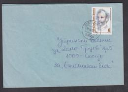 REPUBLIC OF MACEDONIA, COVER, MICHEL 209 - DIMO HADJI DIMOV, Education, Politics, IMRO + - Mazedonien