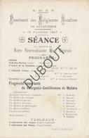 ZAVENTEM Pensionnat Des Religieuses Ursulines 15-01-1907 Mere Générale (R300) - Other