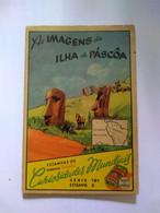 Eucalol SOAP Cromo No Postcard 6*9 Cmt .pascua Island.chile.world Curiosities Series.better Cond.2 Diff Pieces Order - Rapa Nui