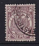 Transvaal: 1885/93   Flags    SG177    2d  Brown-purple        Used - Transvaal (1870-1909)