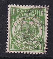 Transvaal: 1885/93   Flags    SG183    1/-  [Perf: 12½]      Used - Transvaal (1870-1909)