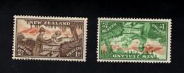 1347823562  1946 SCOTT B28 B29 (XX) POSTFRIS MINT NEVER HINGED POSTFRISCH EINWANDFREI  -  SOLDIER HELPING CHILD - Unused Stamps
