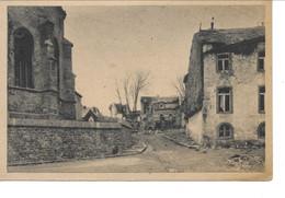 BASTOGNE Une Rue Près De L' église. - Bastenaken