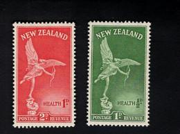 1347835028  1947 SCOTT B30 B31 (XX) POSTFRIS MINT NEVER HINGED POSTFRISCH EINWANDFREI  -  STATUE OF EROS LONDON - Unused Stamps