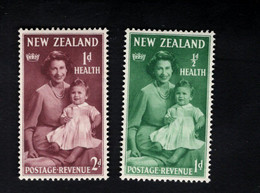 1347838298  1950 SCOTT B36 B37 (XX) POSTFRIS MINT NEVER HINGED POSTFRISCH EINWANDFREI  -  PRINCESS ELIZABETH AND CHARLES - Unused Stamps