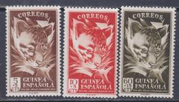 Guinée Espagnole N° 328 / 30 XX Journée Du Timbre, Les 3 Valeurs Sans Charnière, TB - Guinée Espagnole