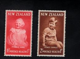 1347840887  195 SCOTT B40 B41 (XX) POSTFRIS MINT NEVER HINGED POSTFRISCH EINWANDFREI  -  ANNE AND CHARLES - Unused Stamps