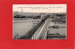 75----PARIS---TOUT PARIS--pont Du Métro -Passy-la Grande Roue---voir 2 Scans - El Sena Y Sus Bordes