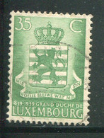 LUXEMBOURG- Y&T N°312- Oblitéré - Usados
