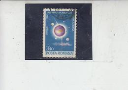 ROMANIA  1981 - Yvert  A 273° - Urano Pianeta -.- - Usati