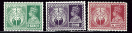 India 195/196/198 MNH 1946 Issues    (ap2460) - Ohne Zuordnung