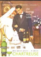 """PUB    """"  CHARTREUSE  """"   1961  ( 21 ) - Alcohols"""