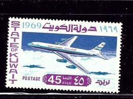 Kuwait 438 MNH 1969 Boeing Passenger Jet    (ap2474) - Kuwait