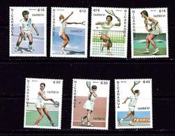 Nicaragua 1624-30 NH 1987 Tennis - Nicaragua
