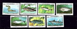 Nicaragua 1661-67 MNH 1987 Fish - Nicaragua